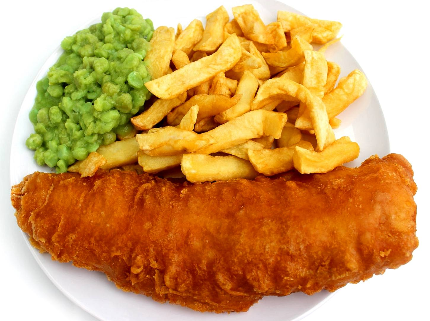 Cod and chips with plastic microfibers please